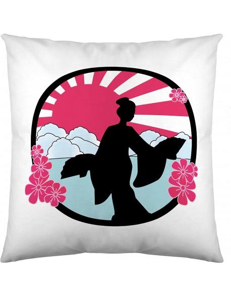 Tsuki Cojín Japonés Kyoto 100% algodón