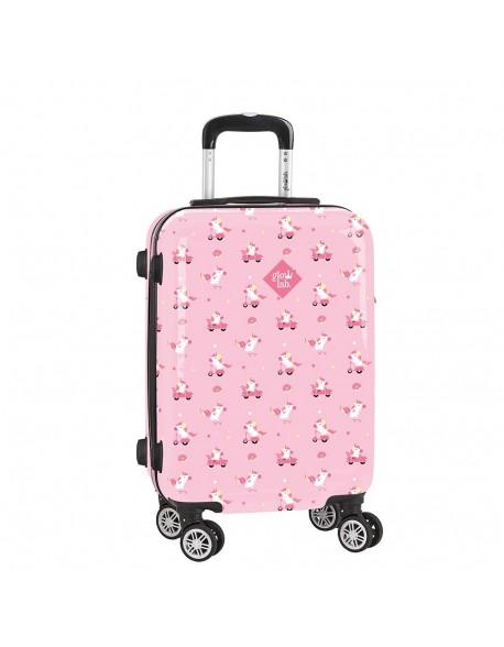 "Glowlab Unicorn Day Trolley Cabina 20"", maleta"