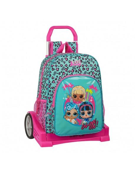 LOL Spring Fling Mochila con carro ruedas Evolution, Trolley