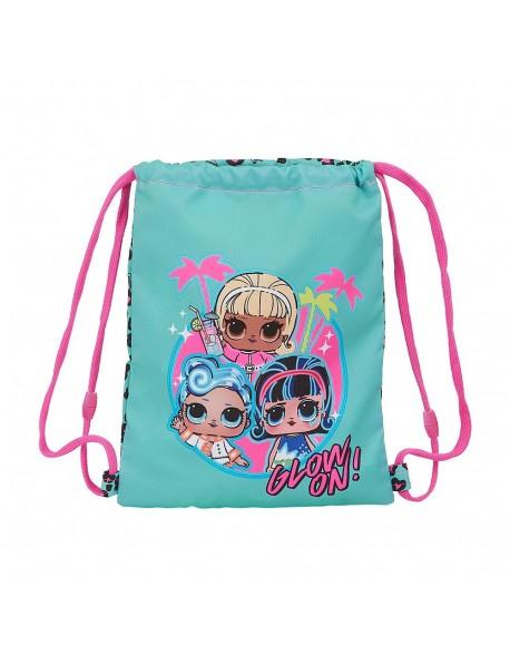Lol Spring Fling Saco mochila plano cuerdas 26 x 34 cm