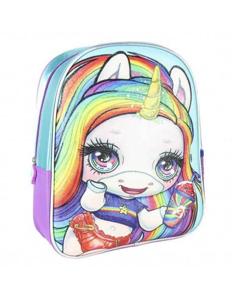 Poopsie Mochila infantil 3D Premium Glitter