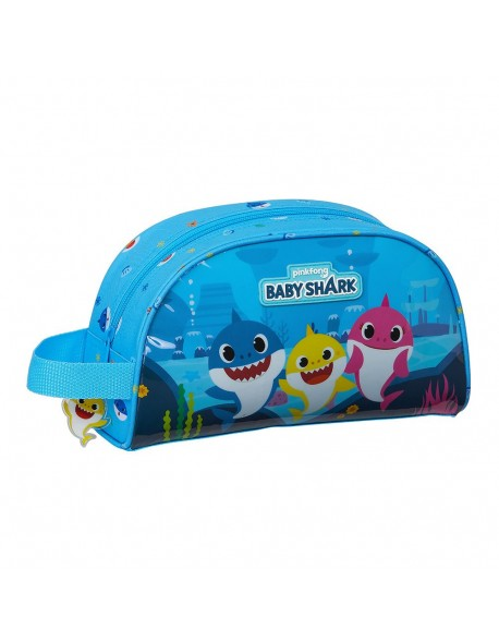 Baby Shark Neceser, bolsa de aseo adaptable a carro
