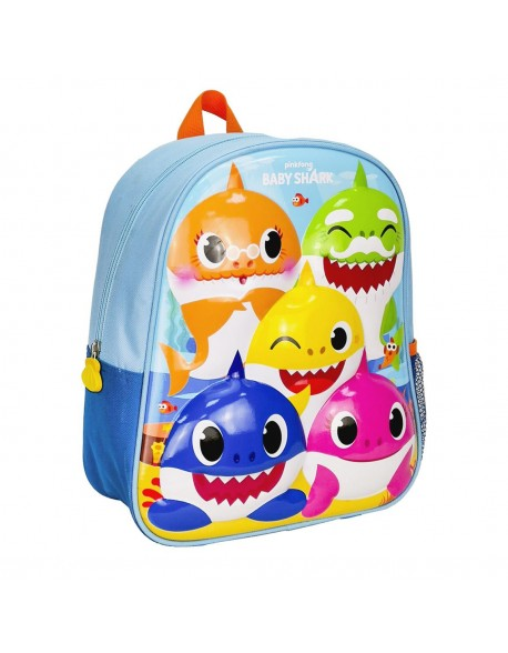 Baby Shark Mochila infantil 3D Premium