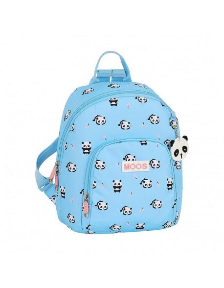 Moos Panda Mini mochila tipo casual.