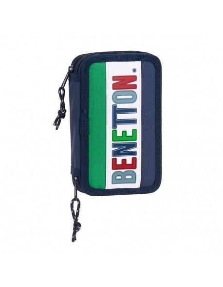 UCB Benetton 1965 Plumier doble, estuche con 28 piezas, niño