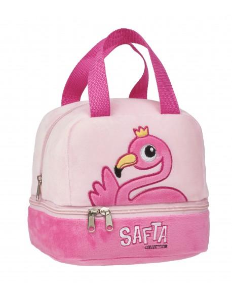 Safta Flamingo Portameriendas, Bolso para el almuerzo o la merienda
