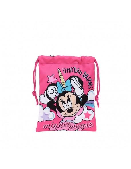 Minnie Mouse Unicorns Saquito merienda 20 cm