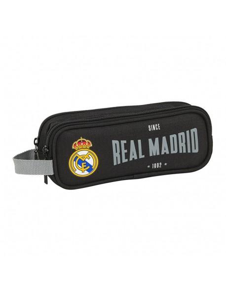 Real Madrid CF 1902 Estuche portatodo doble 2 cremalleras escolar
