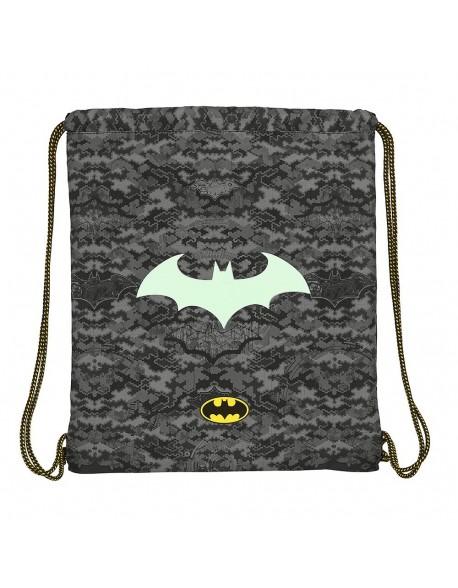 Batman Night Saco mochila plano cuerdas 35 x 40 cm