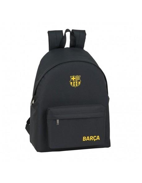 FC Barcelona Black Mochila grande escolar, casual