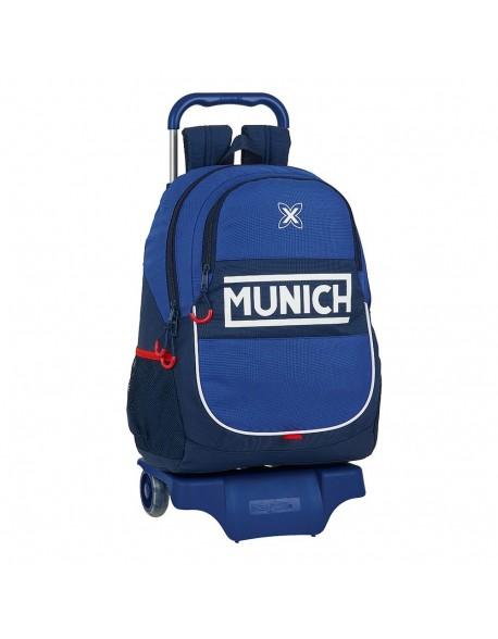 Munich Retro Mochila grande ruedas, carro, trolley