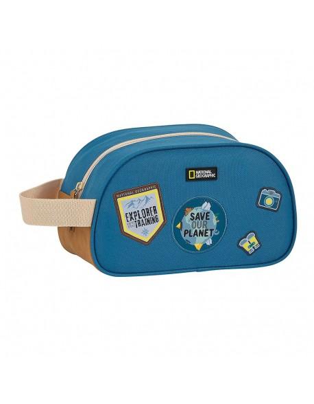 National Geographic Explorer Neceser reciclable, bolsa de aseo adaptable a carro