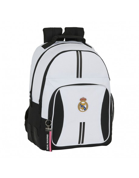 Real Madrid CF Mochila doble escolar con cantoneras