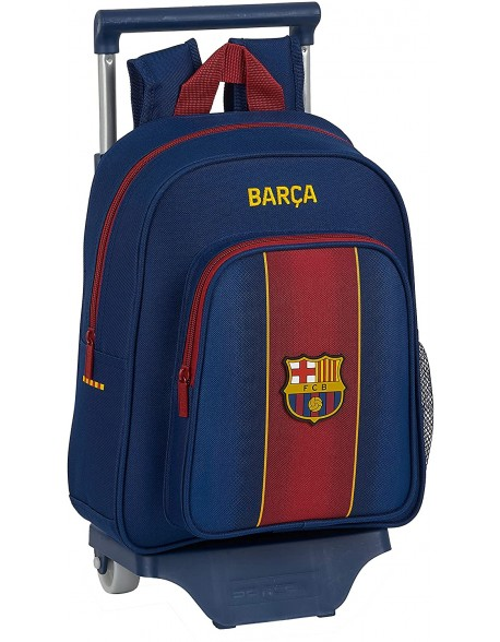 FC Barcelona 1ª Equip. 20/21 Mochila pequeña ruedas, carro, trolley