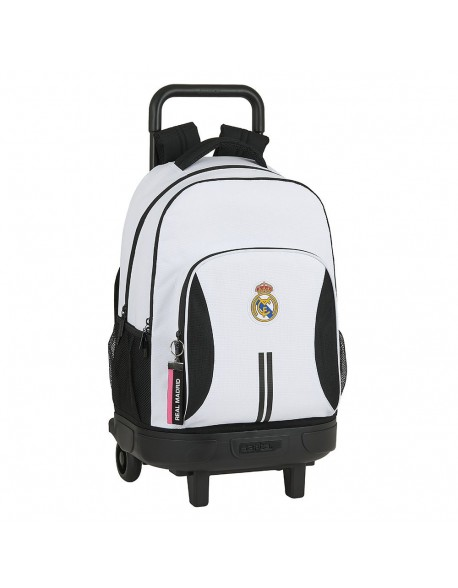 Real Madrid CF Mochila grande con ruedas carro, Trolley