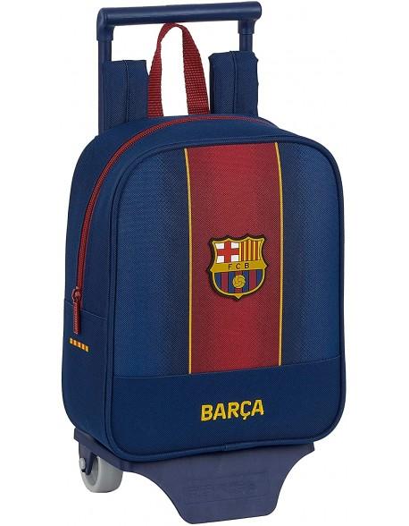 FC Barcelona 1ª Equip. 20/21 Mochila guardería ruedas, carro, trolley
