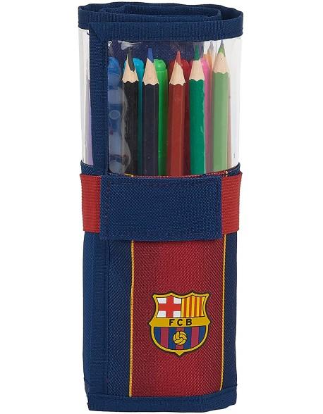 FC Barcelona 1ª Equip. 20/21 Estuche enrollable 27 piezas