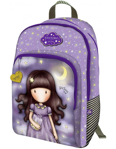 Santoro Gorjuss Sparkle & Bloom Mochila 3 Cremalle. Adapt.Carro. Catch A Falling Star