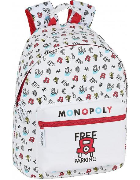 Monopoly Mochila grande con funda ordenador