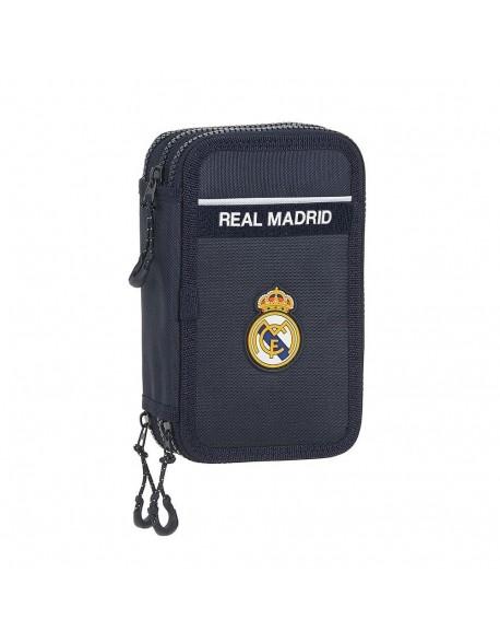 Real Madrid CF estuche triple con 36 piezas