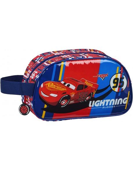 Cars Racing Block Neceser, bolsa de aseo adaptable a carro