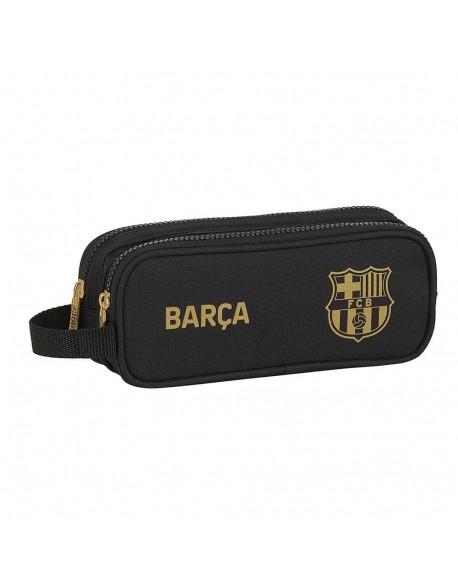 FC Barcelona 2ª Equip. 20/21 Estuche portatodo doble 2 cremalleras escolar