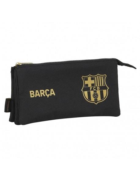 FC Barcelona 2ª Equip. 20/21 Estuche portatodo triple escolar