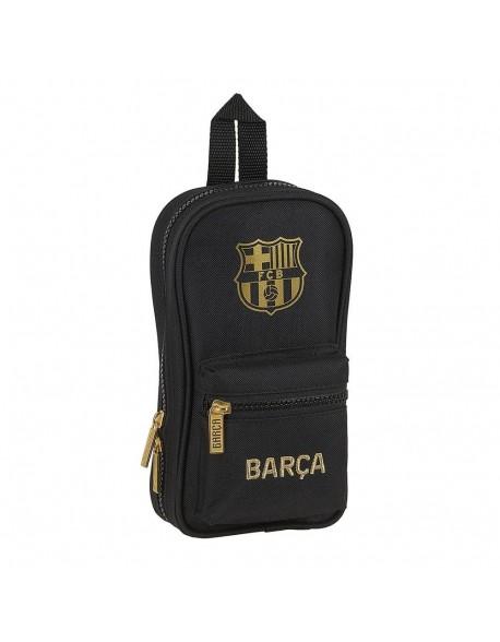 FC Barcelona 2ª Equip. 20/21 Plumier mochila 4 estuches llenos, 33 piezas, escolar