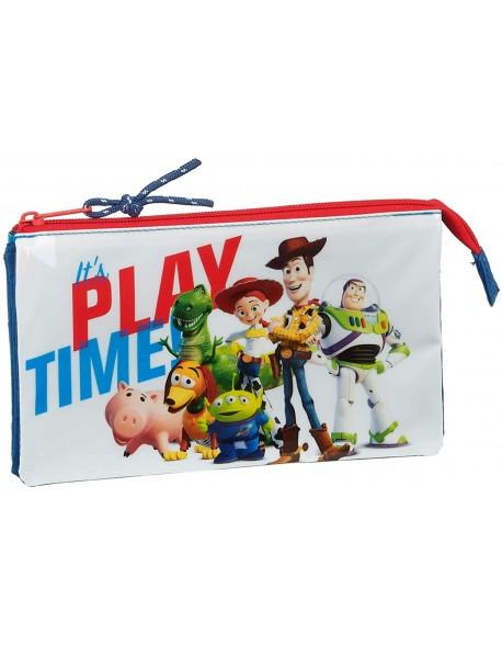 Toy Story Play Time Estuche portatodo triple escolar