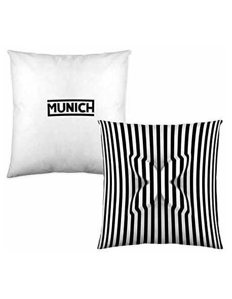 Munich Cojín reversible Relieve 100% algodón