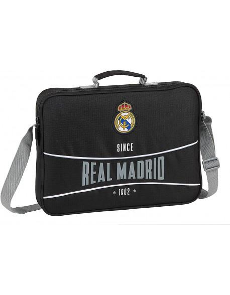 Real Madrid CF 1902 Bolso Maletín cartera extraescolares niño