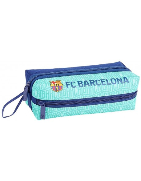 FC Barcelona Estuche portatodo triple 3 cremalleras escolar
