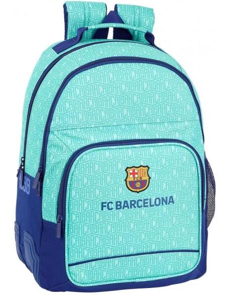 FC Barcelona Mochila doble con cantoneras adaptable a carro
