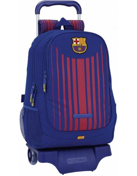 FC Barcelona Mochila grande ruedas, carro, trolley