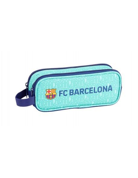 FC Barcelona Estuche portatodo doble 2 cremalleras escolar