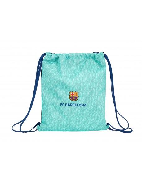 FC Barcelona Saco mochila plano cuerdas 35 x 40 cm