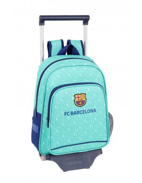 FC Barcelona Mochila pequeña ruedas, carro, trolley