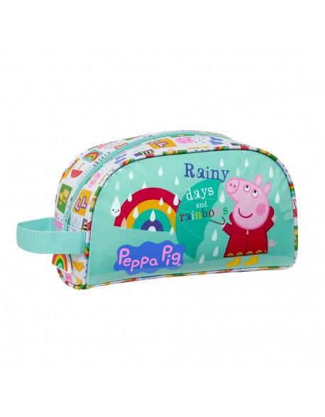 Peppa Pig Neceser, bolsa de aseo adaptable a carro