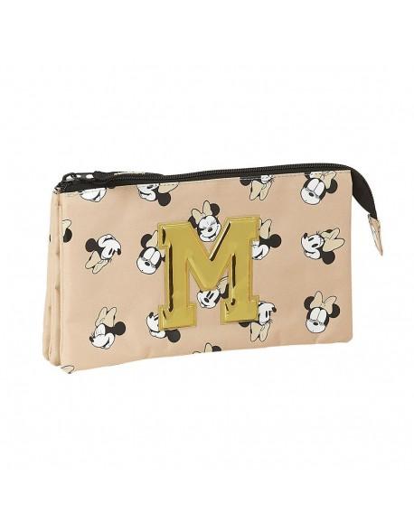 Minnie Mouse Happy Days Estuche portatodo triple escolar