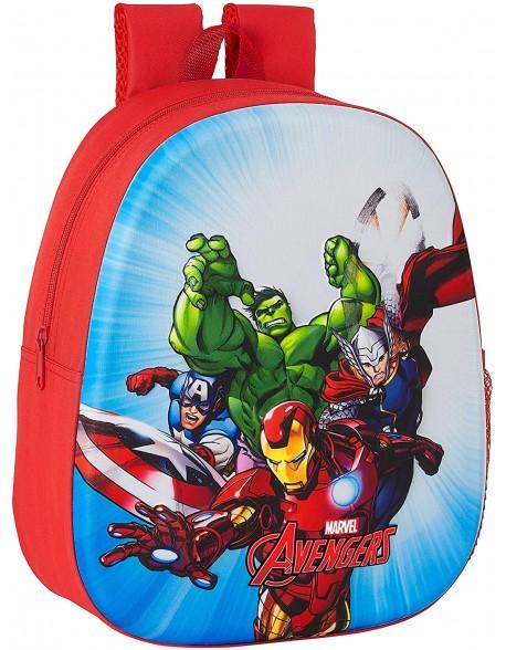 Avengers Mochila 3D