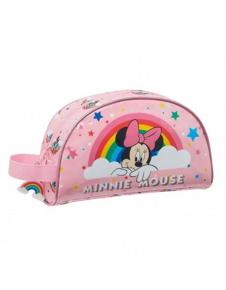 Minnie Mouse Rainbow Neceser, bolsa de aseo adaptable a carro