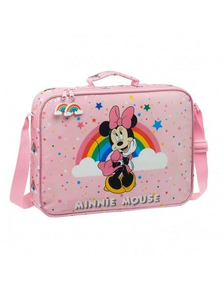 Minnie Mouse Rainbow Maletín cartera extraescolares