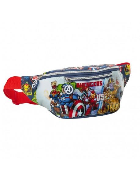 Avengers Heroes VS Thanos Riñonera
