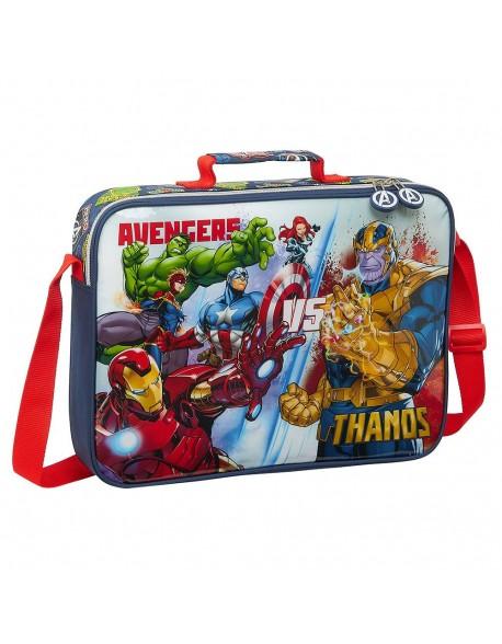 Avengers Heroes VS Thanos Bolso Maletín cartera extraescolares