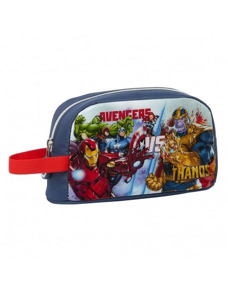 Avengers Heroes VS Thanos Portameriendas térmico