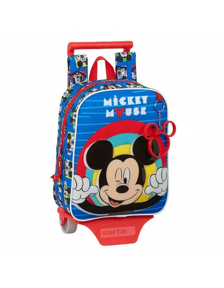 Mickey Mouse Me Time Mochila guardería ruedas, carro, trolley