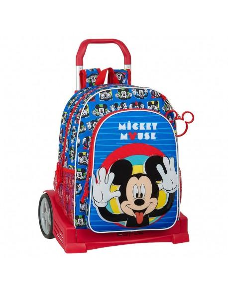 Mickey Mouse Me Time Mochila con carro ruedas Evolution, Trolley