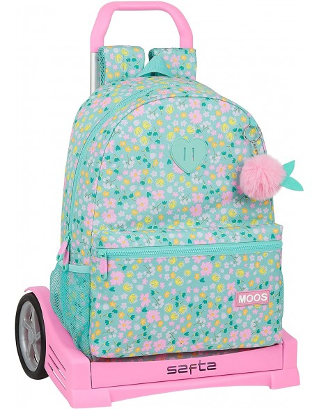 Moos Liberty Mochila con carro ruedas Evolution, Trolley