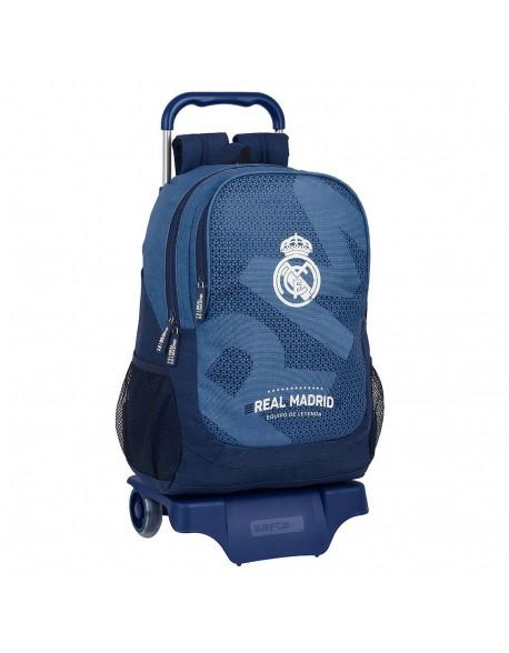 Real Madrid CF Leyenda Mochila grande ruedas, carro, trolley