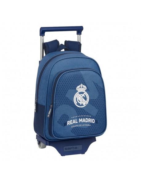 Real Madrid CF Leyenda Mochila pequeña ruedas, carro, trolley